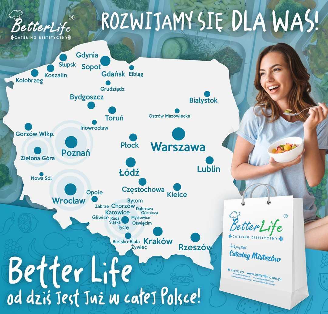 Miejscowości dostaw BetterLife